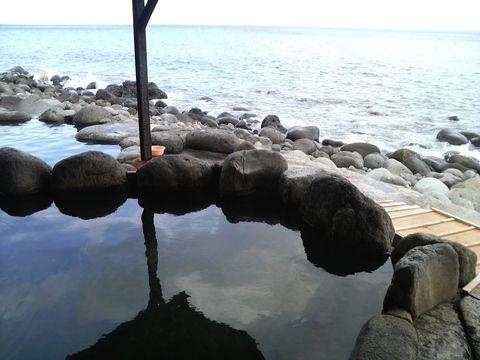 北川温泉黒根岩風呂